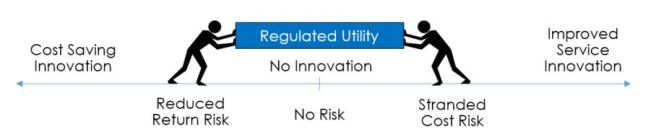 regulated utility