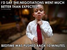negotiations